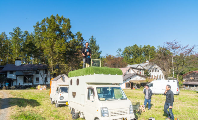 mobile house, truck house, diy house, vanlife japan