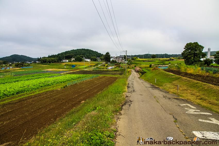 長野県 みどり湖 畑