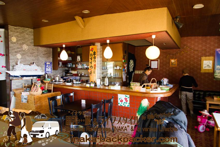"""奥能登一周中 - 「つばき茶屋」 / A cafe restaurant """"Tsubaki Chaya"""" in Ishikawa Pref. (Noto Peninsula)."""