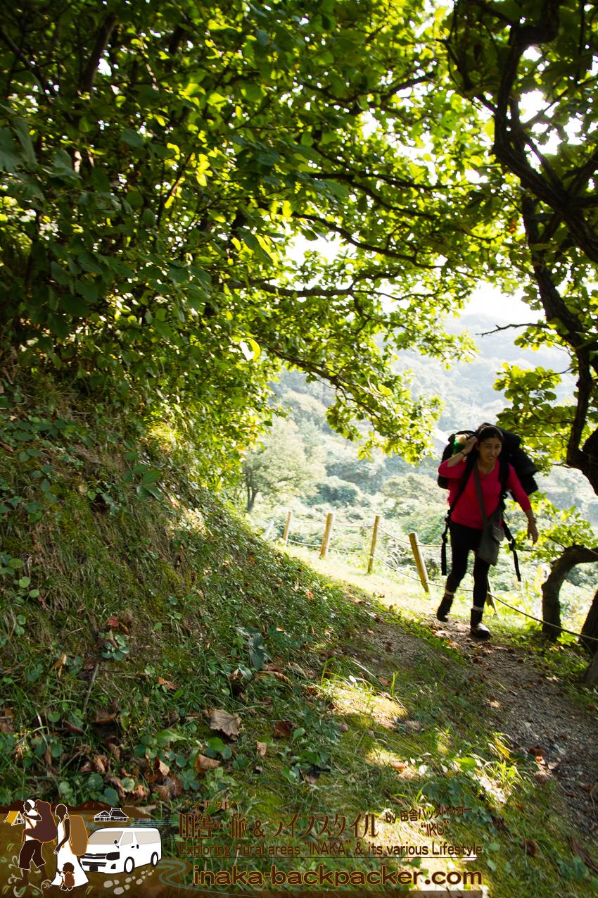 能登・珠洲市 - つばき茶屋からまだまだ歩くぞ。