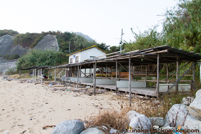 興居島 バックパッカー 島旅 四国