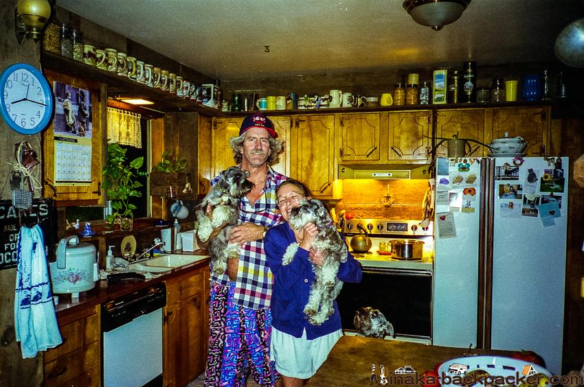 オレゴン ホームステイ 家族 写真