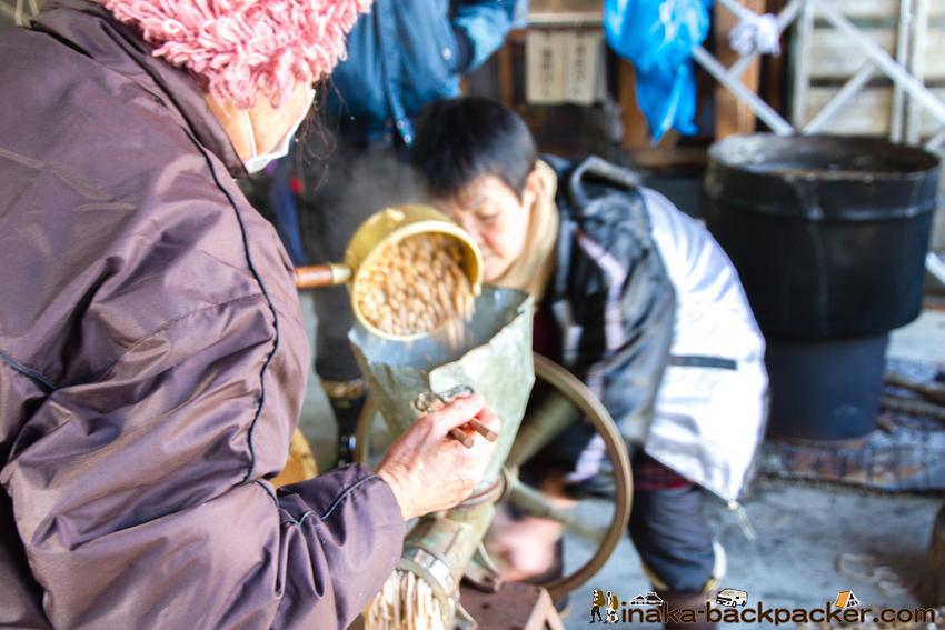 味噌作り 昔ながらの 美味しい 自家製