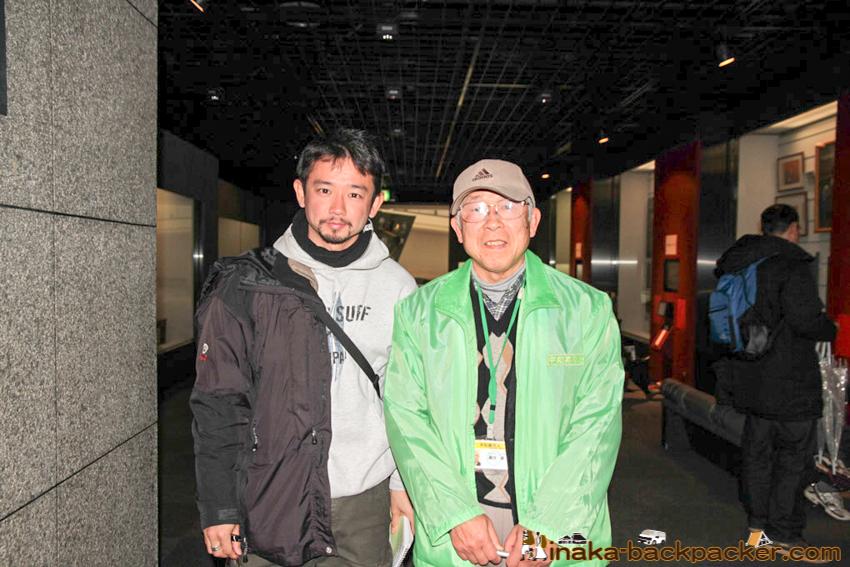 Nagasaki Atomic Bomb Museum Mr. Suguru Urakawa toured us the whole section in the museum