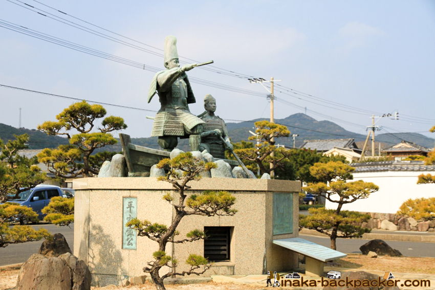 ukujima island in Nagasaki 長崎県 五島列島 宇久島 平家盛 歴史
