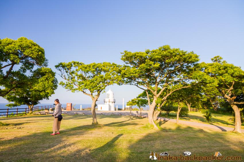 夏 珠洲 禄剛崎 能登半島 日本 列島 中心