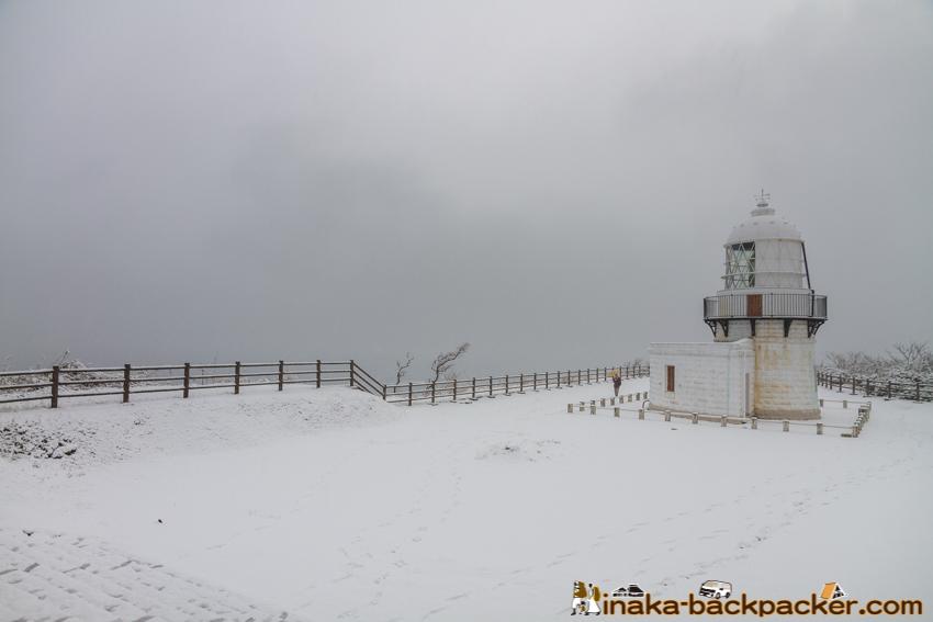 冬 珠洲 禄剛崎 能登半島 日本 列島 中心