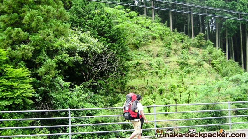 神山 山越え
