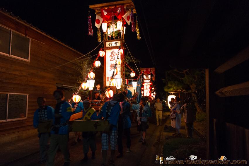 岩車 キリコ祭り