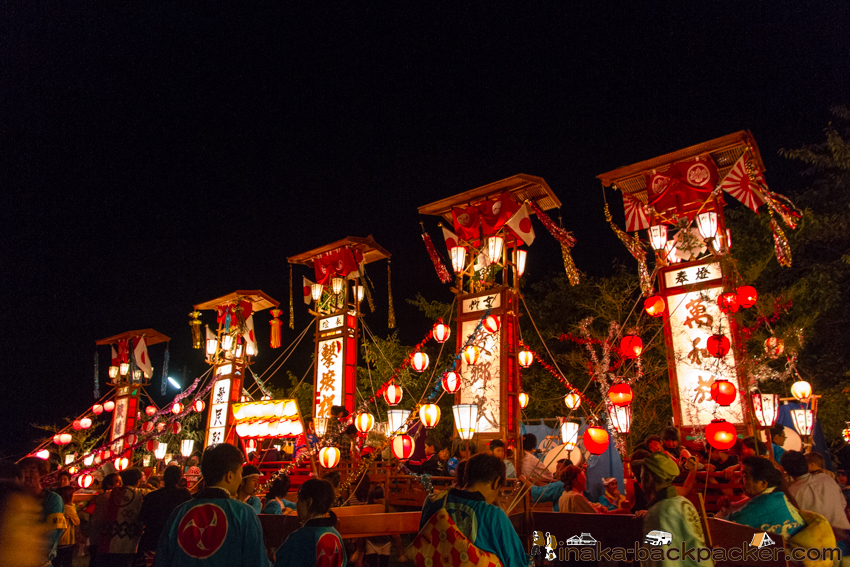 キリコ祭り 穴水町