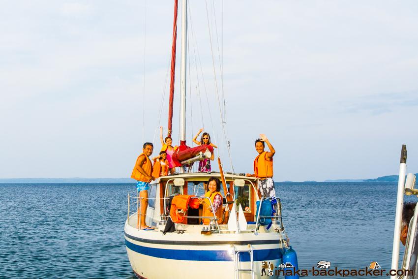 洋上パーティー ヨット ボート 上でパーティー