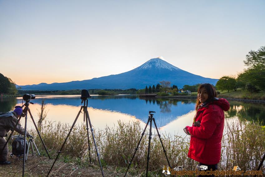 ダブル ダイヤモンド富士 田貫湖 たぬきこ キャンプ