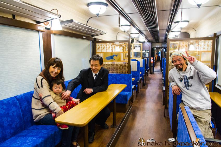 のと鉄道 新型観光列車 のと里山里海号