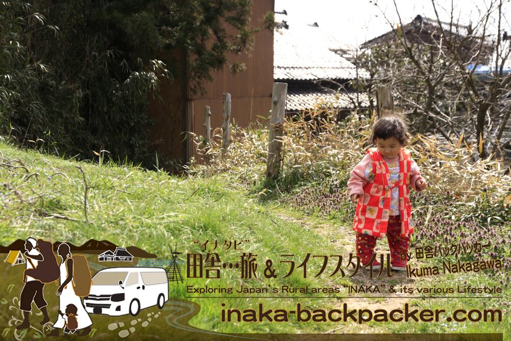 能登・穴水町岩車(石川県) - バックパッカー中川生馬の娘