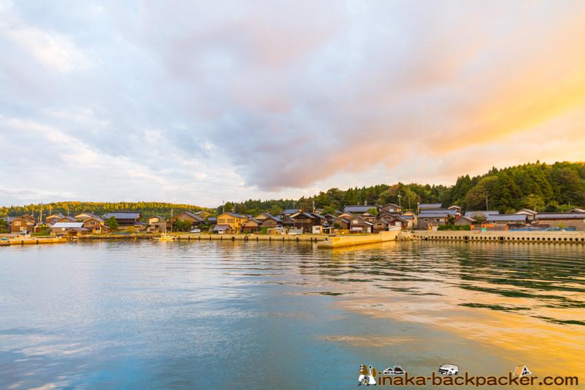 能登 美しい漁港 村