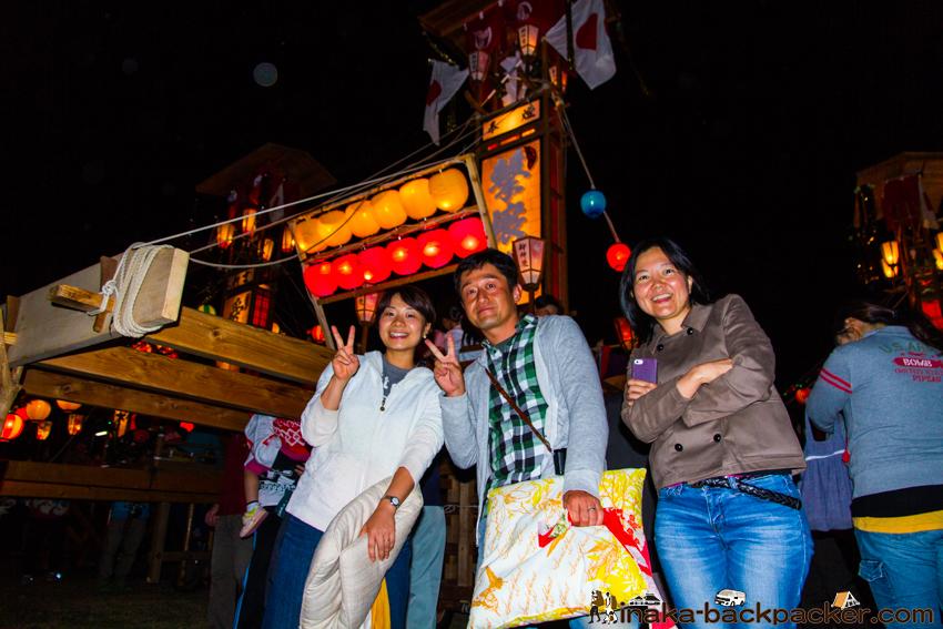 能登 穴水町 岩車 キリコ祭り