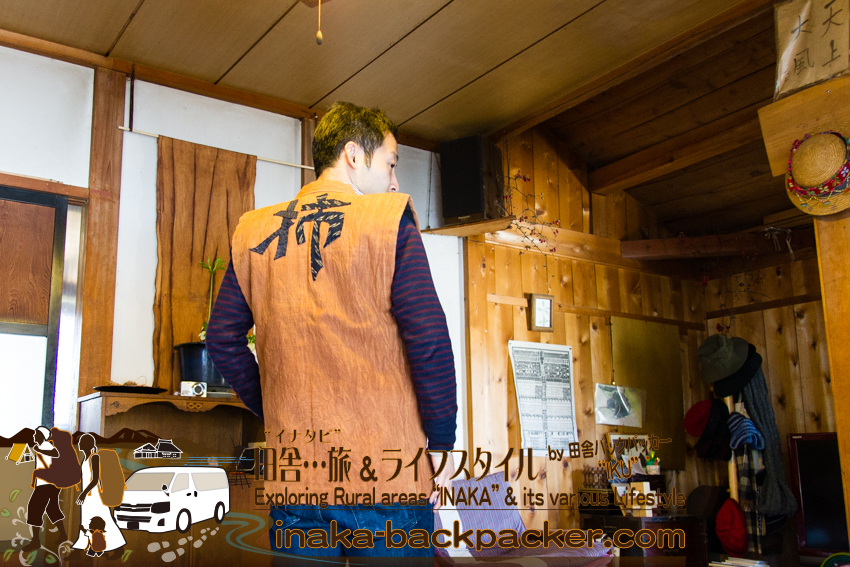 輪島 龍昌寺 柿渋染め Wajima Ryushoji temple self-sufficiency lifestyle experience