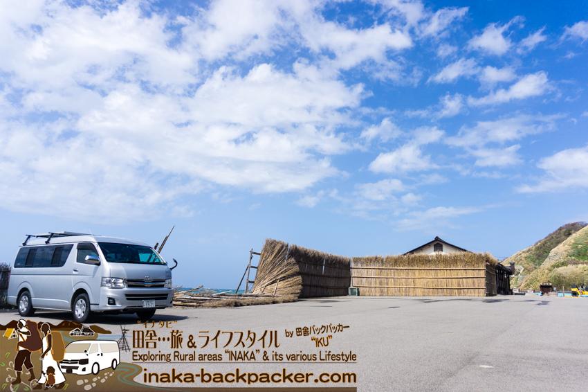 2016年最大の強風 塩の駅 輪島塩 間垣 崩壊