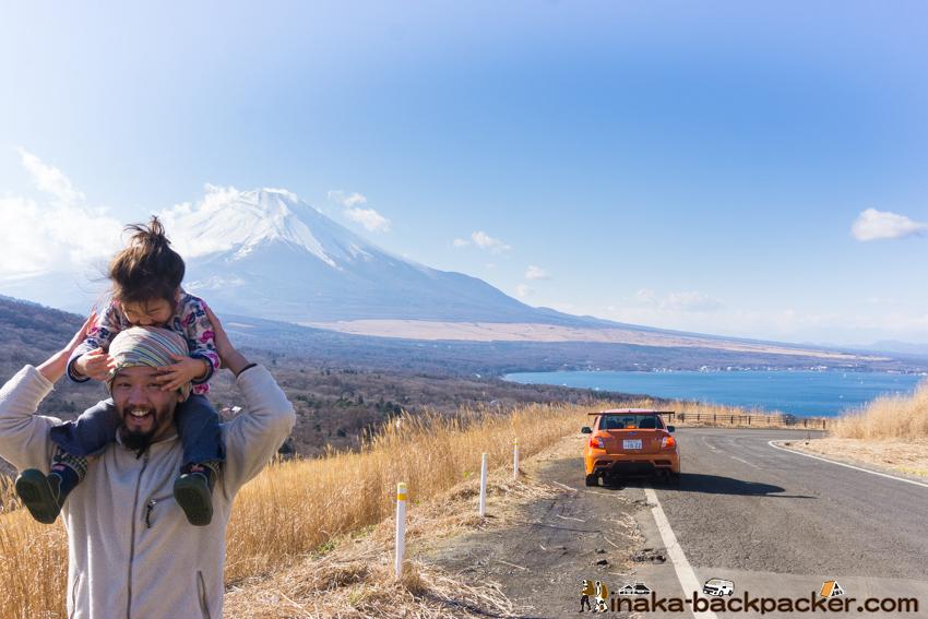クルマ旅 神奈川県 能登 山中湖 穴場 撮影