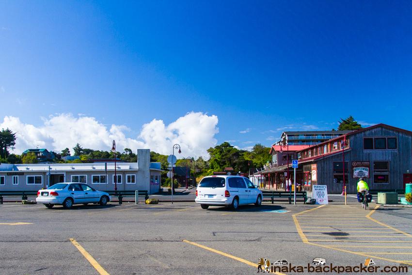 オレゴン バンドン Bandon Town in Oregon