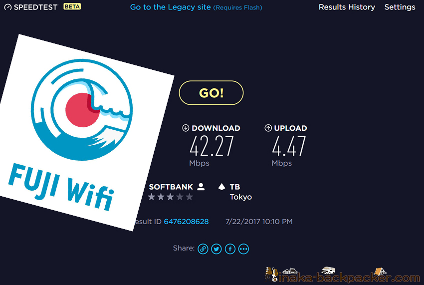 fuji wifi speed 速い 遅い