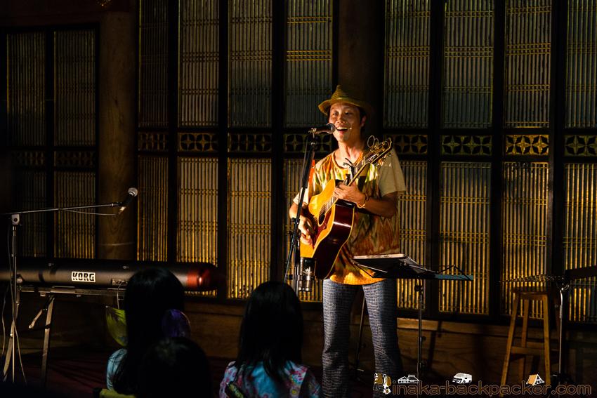 金蔵万燈会 まんとうえ 音楽ライブ チョージ Choji candle light music event