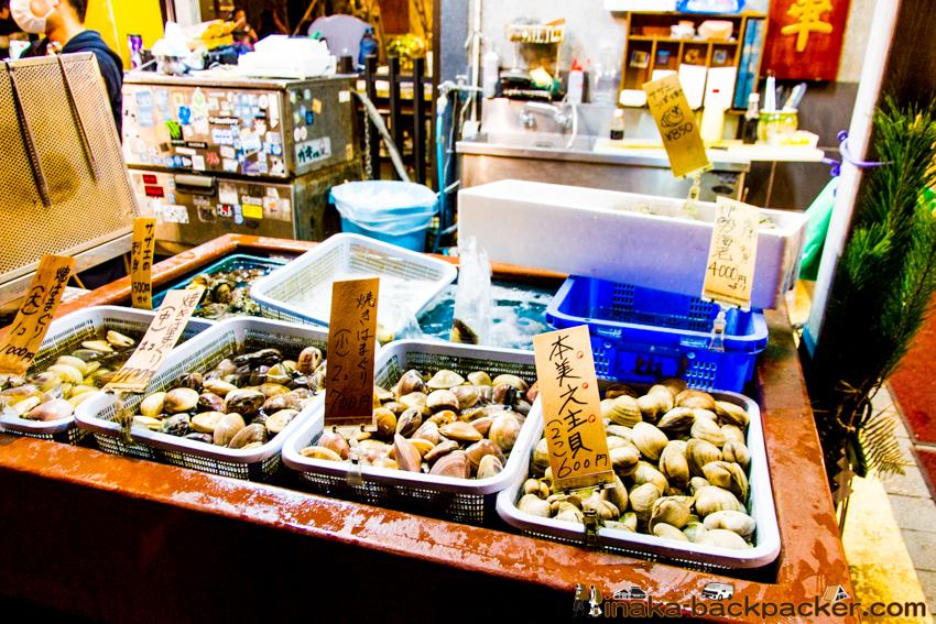 江の島 ハマグリ サザエ enoshima expensive