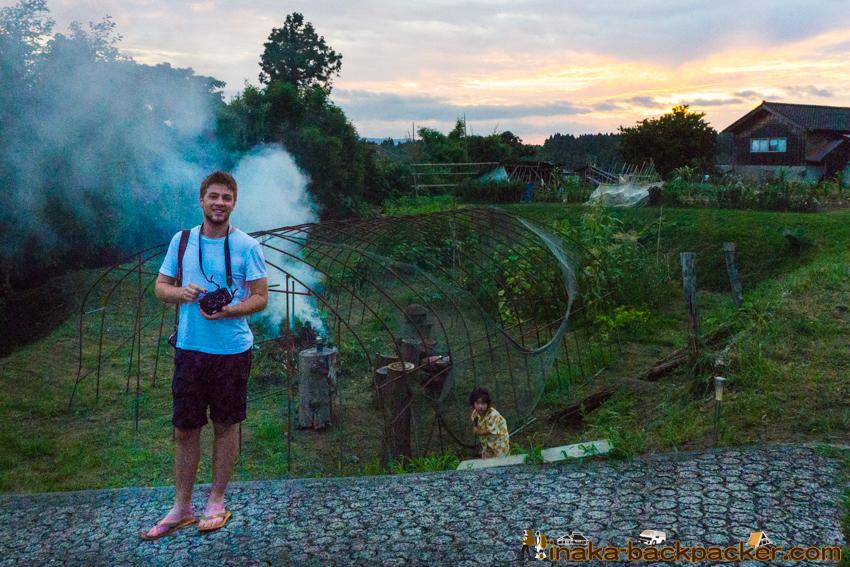 Connor Jessup in Noto Anamizu Japan コナージェサップ 石川県 能登 穴水町 日本