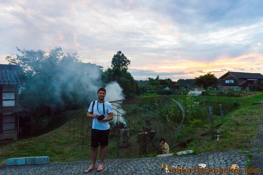 Connor Jessup in Anamizu Japan コナージェサップ 日本 石川県 能登 穴水町