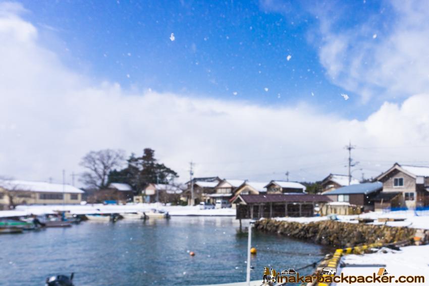 石川県 能登 穴水町 岩車 大雪 Ishikawa Noto Anamizu Iwaguruma Heavy Snow