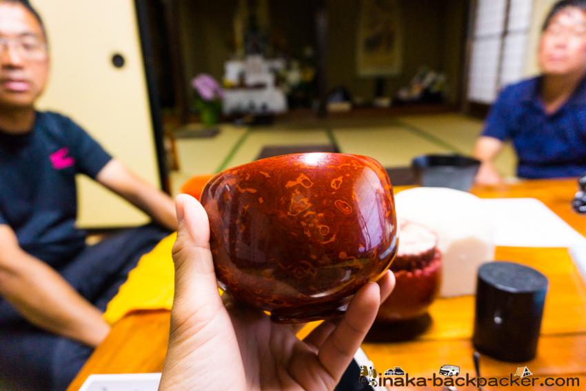 Wajima lacquer lasts forever 山崖松花堂 漆のみ ユニーク漆器