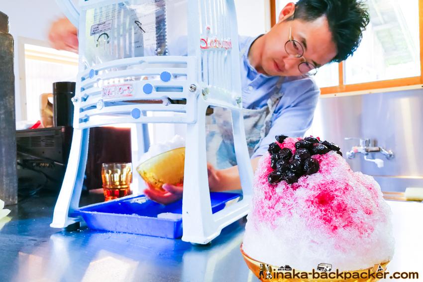 ウミネコパーラー 石川県 穴水町 足立秀幸 土倉菜々香 かき氷 カフェ Anamizu Shaved Ice Kakigori cafe