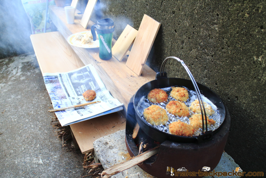 firewood cooking 田舎暮らし 薪料理