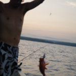 fishing in countryside Anamizu 田舎体験 子ども アジ 釣り 穴水町 能登 石川県