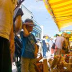 Morning Market Wajima Noto Ishikawa 輪島朝一 能登 石川県 お盆 混雑
