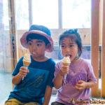 Icecream in Wajima Noto Ishikawa 能登 白米千枚田 ソフトクリーム