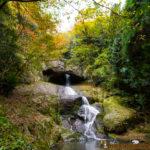 waterfall in wajima noto ishikawa 大沢村 桶滝 輪島 能登半島 滝