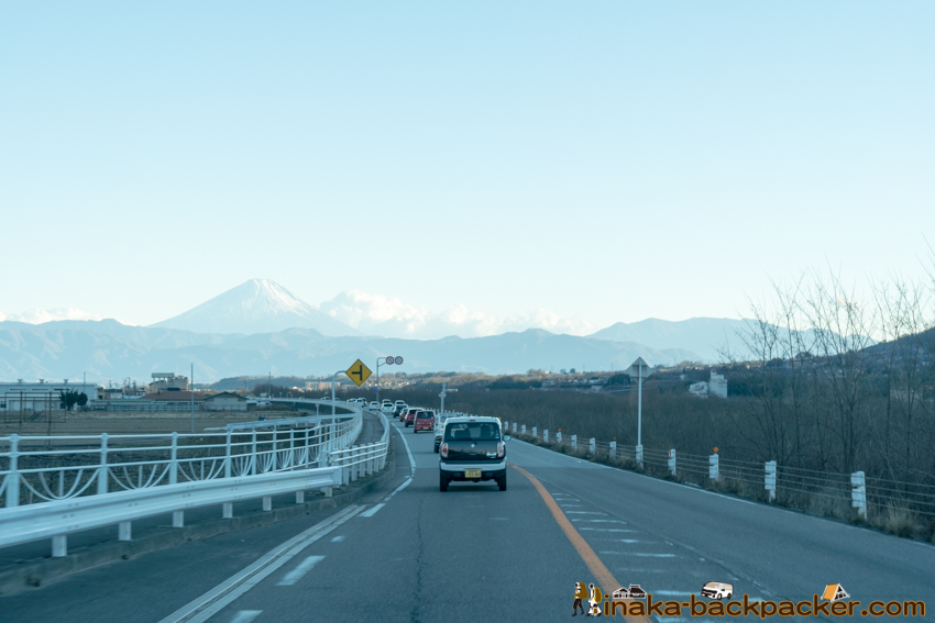 道路 富士山