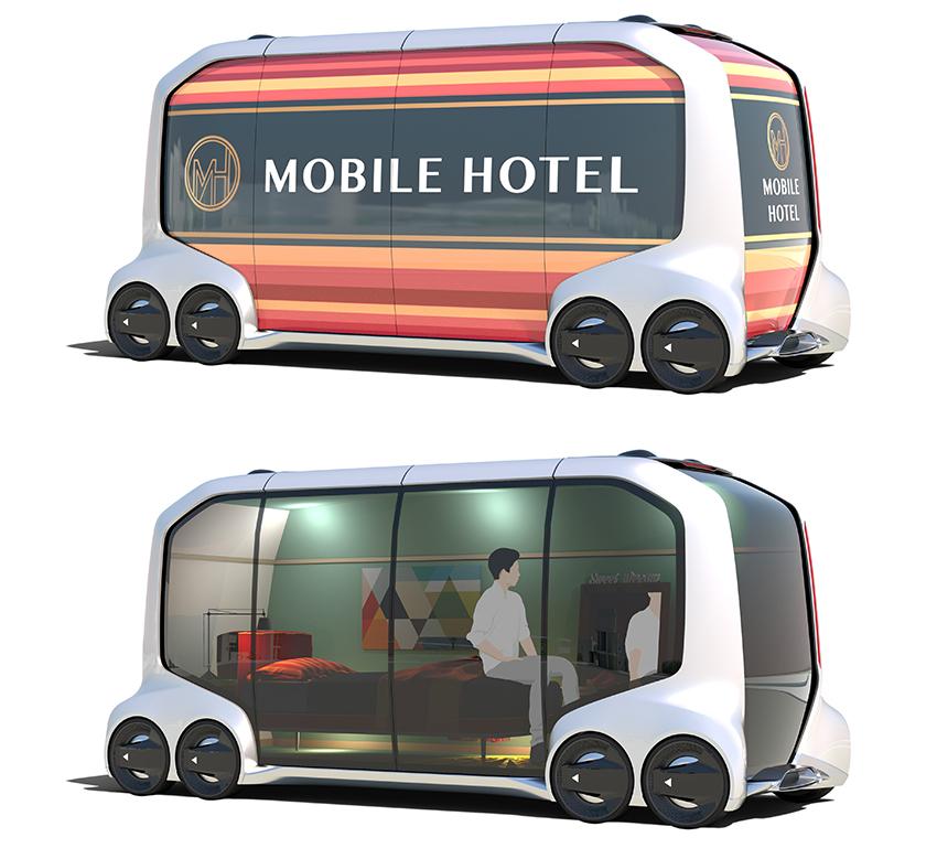 トヨタ モバイルホテル