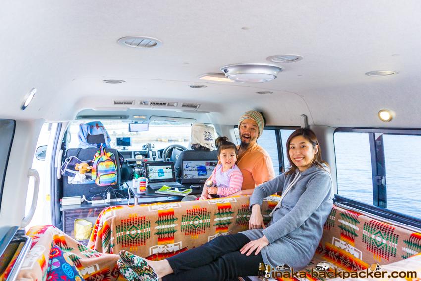 mobile lifestyle vanlife family 移動型定住 東京モーターショー 家族 バンライフ 家族 子持ち