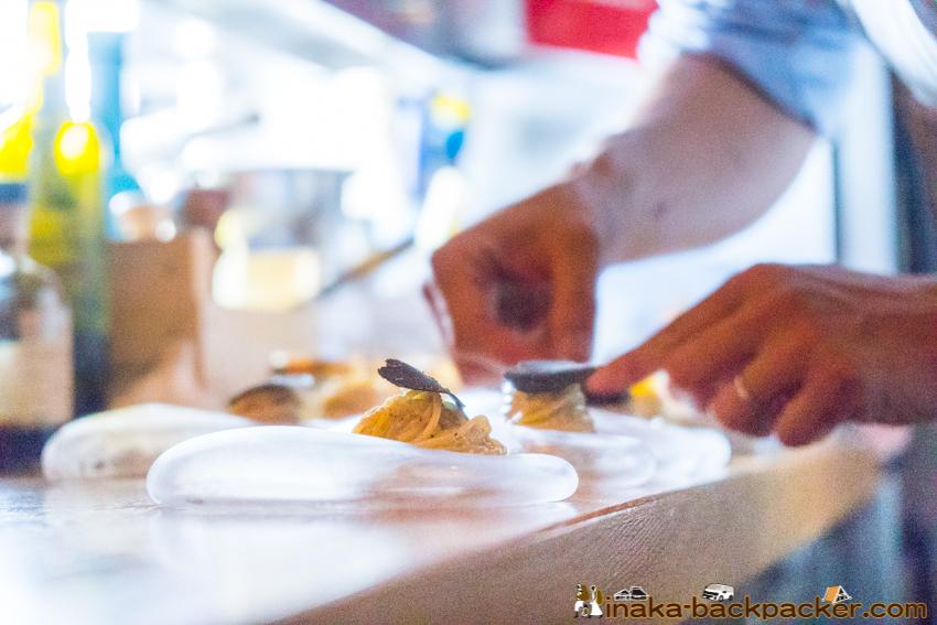 teatro acca italian food gotokuji テアトロアッカ イタリアン 料理 豪徳寺 オーストラリア産 黒トリュフ 冷製パスタ