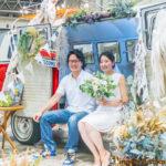 vanlife wedding バンライフ ウェディング クルマ 結婚式