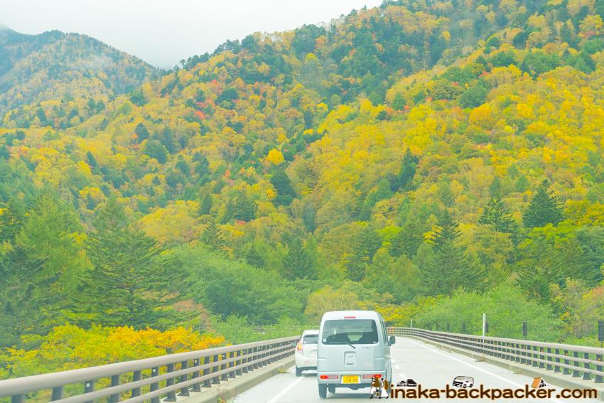 奥飛騨 紅葉 hida autumn