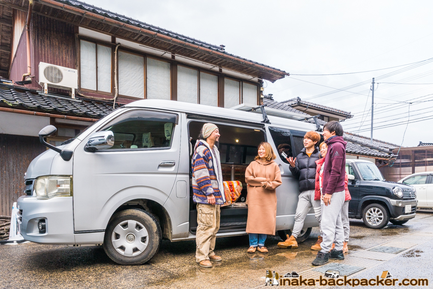 石川県 バンライフ 長期滞在可能 住める駐車場