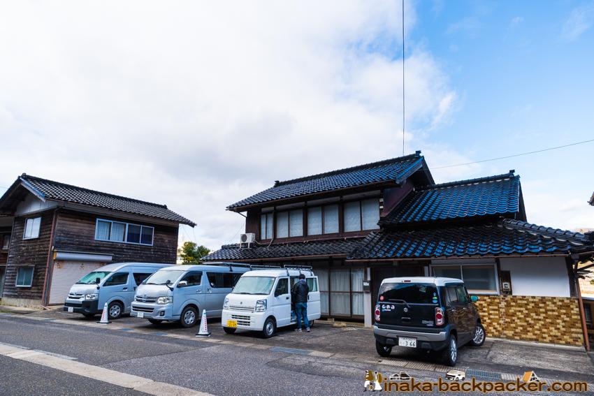 車中泊 バンライフステーション 石川県 穴水町 vanlife station in anamizu ishikawa