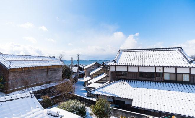 石川県 穴水町 岩車 積雪