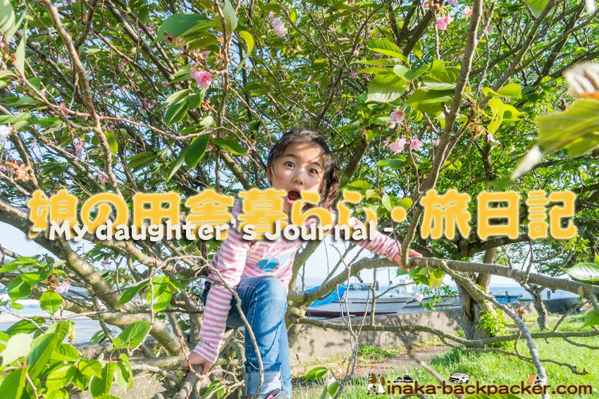 田舎暮らしする6歳の娘 子供 日記