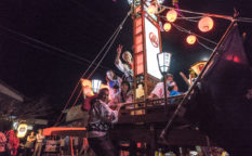 穴水町 岩車 キリコ祭り 2020年
