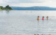 日本海 10月 海 石川県 穴水町 岩車 空いてる ビーチ 田舎暮らし 子育て