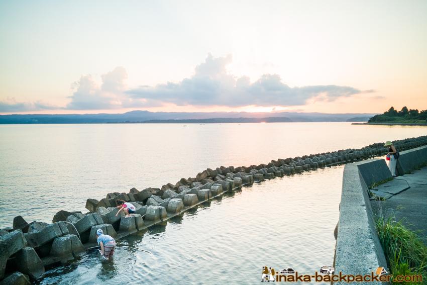 石川県 穴水町 岩車 海 遊び 田舎暮らし 子育て